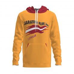 Džemperis ar kapuci Maratona Klubs dzeltens
