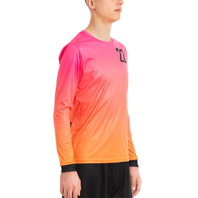 Futbola vārtsarga krekls ar apdruku