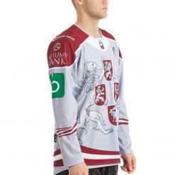 Latvijas Hokeja izlases pārbaudes spēļu fanu forma gaiša