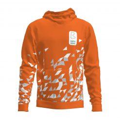 Džemperis ar kapuci Babītes vidusskola- oranžs