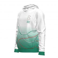Džemperis ar kapuci Babītes vidusskola- zaļš