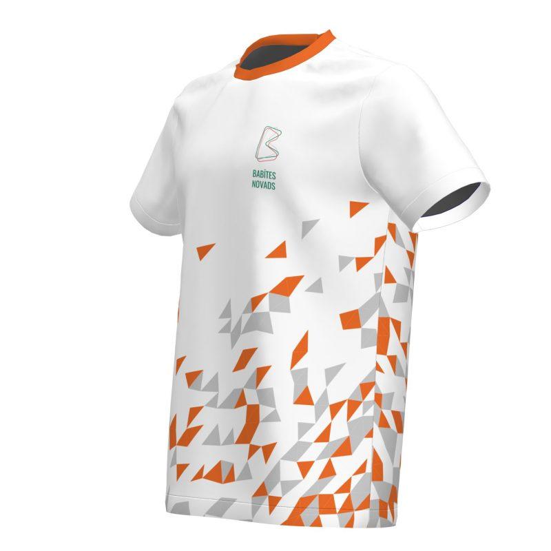 Sporta krekls Babītes vidusskola-balts